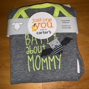 Carter's Shirts & Tops - Carter's newborn Halloween onesie  new Batty